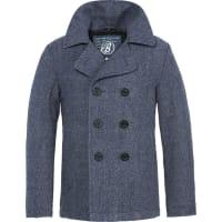 BranditPea Coat Jacke blau