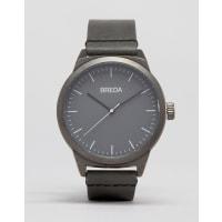 BredaRand Grey Leather Watch - Grey