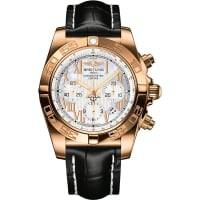 BreitlingHb0110ae/a698 Chronomat 18ct Rose Gold Watch, Mens