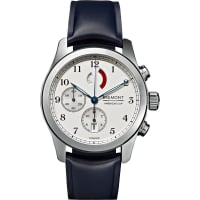 BremontAmericas Cup Regatta Stainless Steel And Rubber Chronograph Watch - Silver