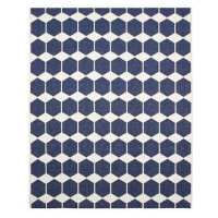 Brita SwedenAlfombra Anna, grande azul 150 x 200 cm