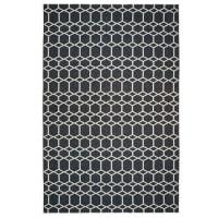 Brita SwedenIngrid gulvteppe svart stort 200x300 cm