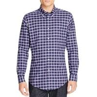 Brooks BrothersCheck Slim Fit Button-Down Shirt
