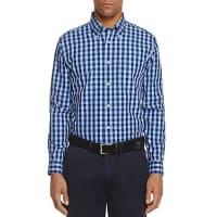 Brooks BrothersGingham Slim Fit Button-Down Shirt