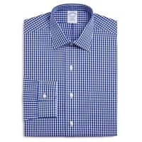 Brooks BrothersNon-Iron Frame Check Classic Fit Dress Shirt
