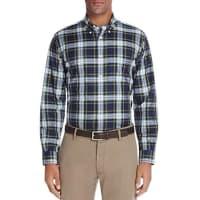 Brooks BrothersPlaid Twill Slim Fit Button-Down Shirt