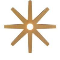 BswedenFling gold lamp Ø 33 cm