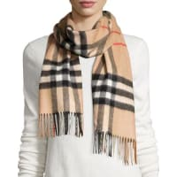 BurberryGiant-Check Cashmere Scarf