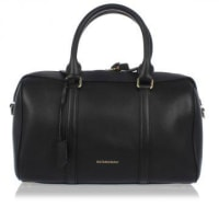 BurberryGrained Leather Bowling Bag Herbst/Winter