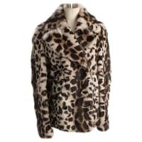 BurberryPre-Owned - Leopard print Fur Jacket