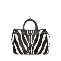 BurberryMD Banner Zebra gemusterter Tasche