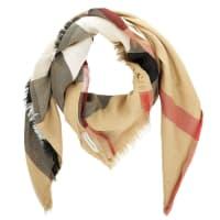 BurberrySchal - Sheer Mega Check Scarf Camel Check - in beige - Schal für Damen