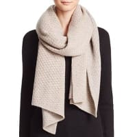 C By BloomingdalesC by Bloomingdales Cashmere Honeycomb Knit Scarf