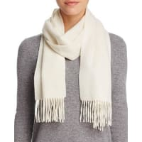 C By BloomingdalesC by Bloomingdales Solid Cashmere Scarf