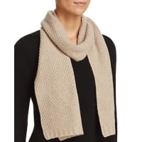 C By BloomingdalesC by Bloomingdales Waffle Knit Cashmere Scarf