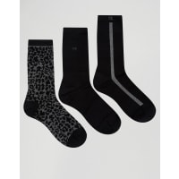 Calvin KleinHoliday - Socken im 3er Pack in Geschenkbox - Mehrfarbig