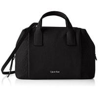 Calvin Klein JeansMISH4 DUFFLE - Bolsa de Asa Superior Mujer, color Negro