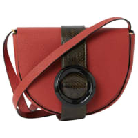 Calvin KleinSegunda mano - Bolso de mano en Cuero Rojo