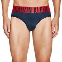 Calvin Klein UnderwearPower Red - Micro Hip Brief - Slip - Homme - Bleu (Blue Shadow/New Basic) - X-Large (Taille Fabricant: Xl)