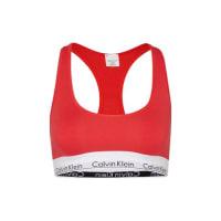 Calvin Klein UnderwearBustier-Top mit Label-Bund rot
