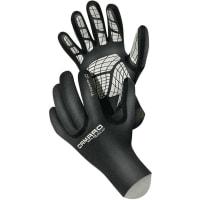 CamaroTitanium Thermo Gloves 1 mm Black/Silver Skidhandskar
