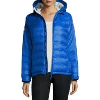 Canada GooseCamp Hooded Packable Puffer Jacket, Royal Blue