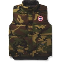 Canada GooseFreestyle Camouflage-print Quilted Shell Down Gilet - Green