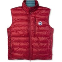 Canada GooseLodge Packaway Quilted Shell Down Gilet - Red