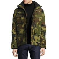 Canada GooseMaitland Hooded Parka, Green Multi Camouflage