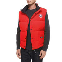 Canada GooseFreestyle Down Puffer Vest, Red