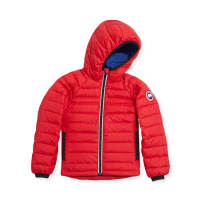 Canada GooseYouth Sherwood Hooded Jacket, Red, XS-XL