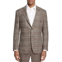 CanaliPlaid Classic Fit Sport Coat