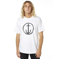 Captain FinOriginal Anchor Mens Tee White
