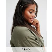 Cara NYCara NY - 3er Pack Haarspangen - Gold