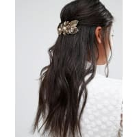 Cara NYCara NY - Haarspange mit Blumendesign - Silber