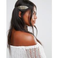 Cara NYCara NY - Haarband mit Blatt-Design - Gold