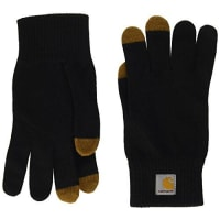 Carhartt Work in ProgressTouch Screen Gloves - Guanti, unisex, colore black/hamilton brown, taglia M
