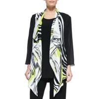Caroline RoseTwist of Lime Waterfall Jacket
