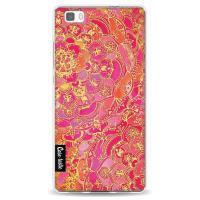 CasetasticSoftcover Huawei P8 Lite - Hot Pink Barroque