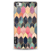 CasetasticSoftcover Huawei P8 Lite - Stained Glass Multi