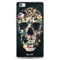 CasetasticSoftcover Huawei P8 Lite - Vintage Skull