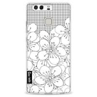 CasetasticSoftcover Huawei P9 - Cherry Blossom Grid