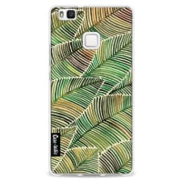 CasetasticSoftcover Huawei P9 Lite - Tropical Leaves Yellow