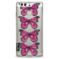 CasetasticSoftcover Huawei P9 - Pink Butterfly