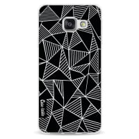 CasetasticSoftcover Samsung Galaxy A3 (2016) - Abstraction Lines Black