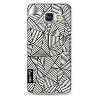 CasetasticSoftcover Samsung Galaxy A3 (2016) - Abstraction Lines Transparent