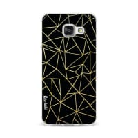 CasetasticSoftcover Samsung Galaxy A3 (2016) - Abstraction Outline Gold