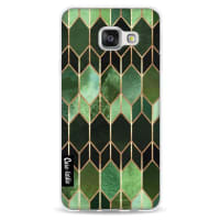 CasetasticSoftcover Samsung Galaxy A3 (2016) - Stained Glass Green