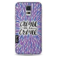 CasetasticSoftcover Samsung Galaxy S5 - Creme de la Creme Periwinkle