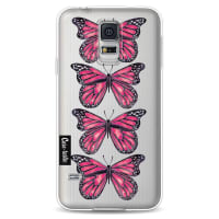 CasetasticSoftcover Samsung Galaxy S5 - Pink Butterfly